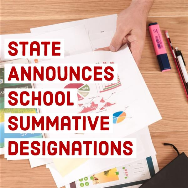 Summative Designations Announced by State